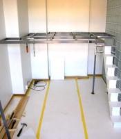 Montering av trappa