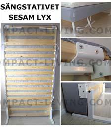 Här hittar du vårt SESAM LYX sängstativ