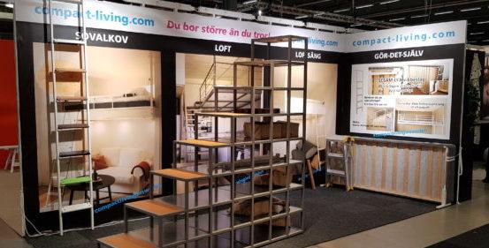 Compact-living presenterar Stairway to space under Hem, Villa och bostadsrättmässan